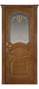 Мекомнатная дверь ''Дариано Порте (Dariano Porte)'' Марго стекло Ажур дуб