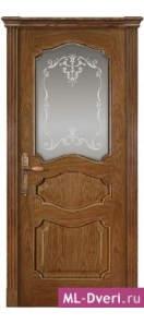 Мекомнатная дверь ''Дариано Порте (Dariano Porte)'' Марго стекло Узор дуб