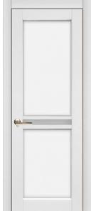 Межкомнатная дверь Европан Элегант 3 ДГ Экошпон Белая